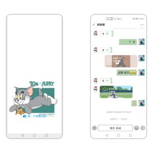 【主题爱好者】《新猫和老鼠》新的一年 新的猫 新的老鼠+简洁微信模块,爱主题-荣耀俱乐部