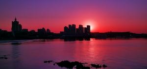 清晨宁静的海湾,爱摄影-荣耀俱乐部