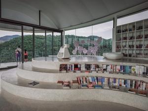 一朵悬停于山间的飘浮云絮——泰山九女峰书房,爱旅行-荣耀俱乐部