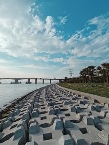 摄影   荣耀手机带你多图直击洪鹤大桥,据说是世界最大跨度串联式斜拉桥!,爱摄影-荣耀俱乐部