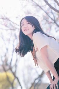 闪耀女生|桃花之恋,爱摄影-荣耀俱乐部