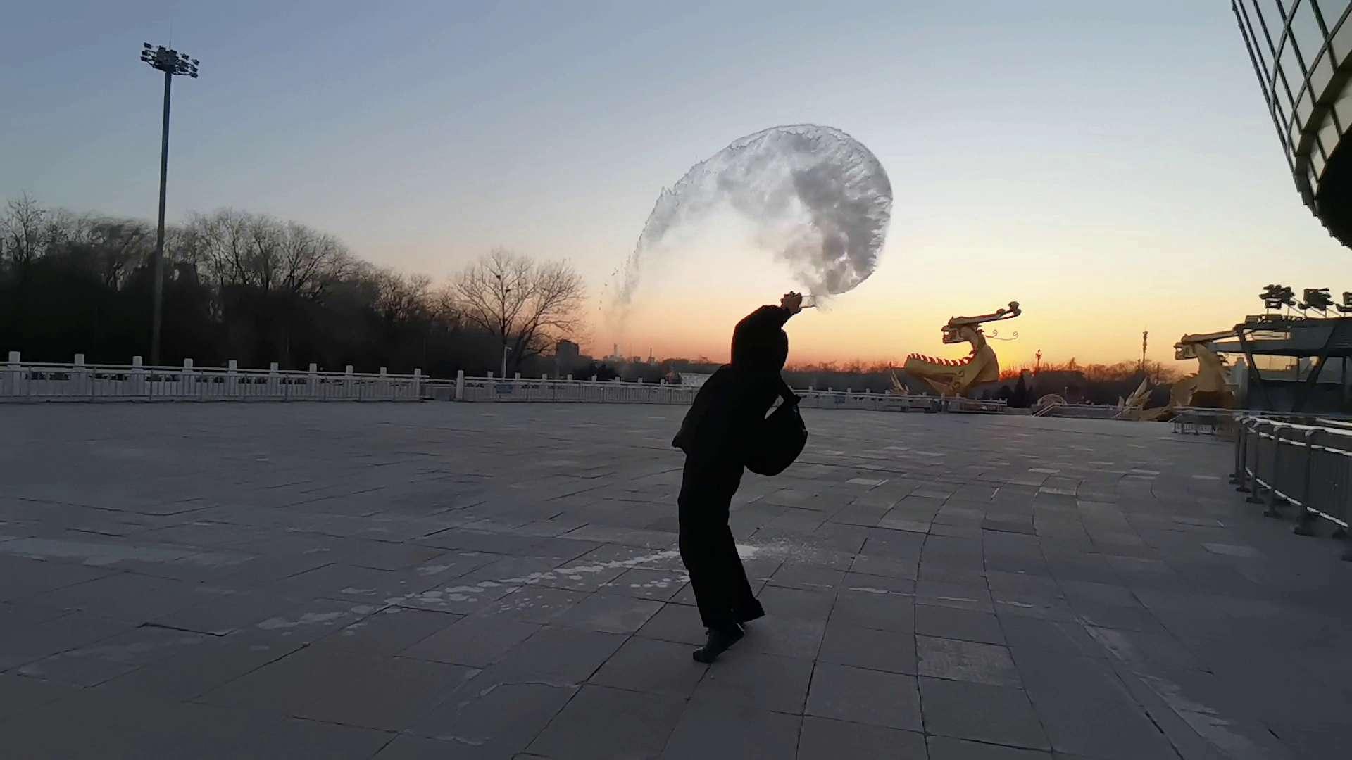 北京也能泼水成冰|超级慢动作应用,爱摄影-荣耀俱乐部