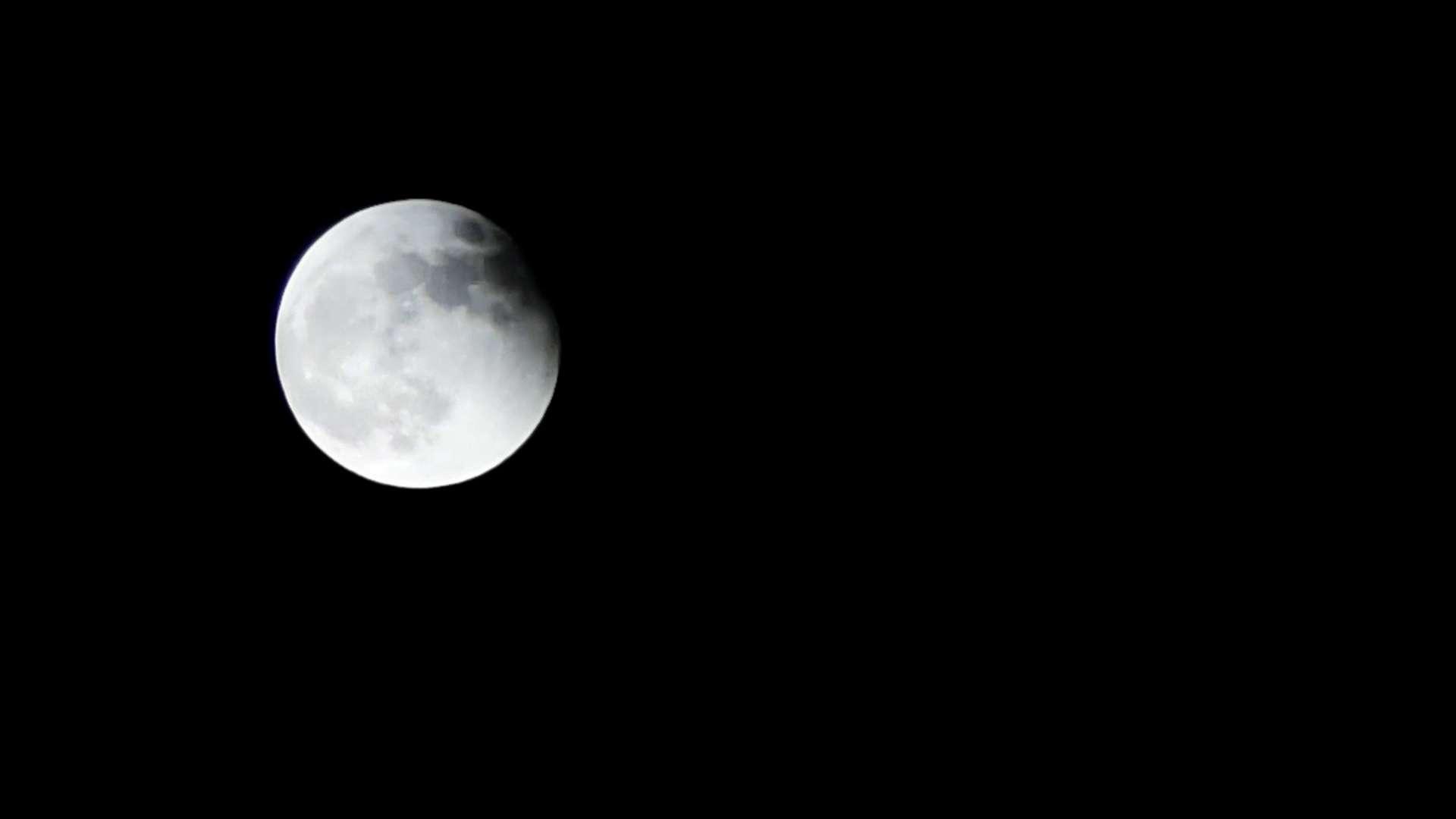 延时摄影带你去看超级月亮月全食,爱摄影-荣耀俱乐部